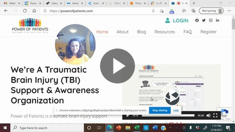 BIAG February Webinar replay presented by Power of Patients